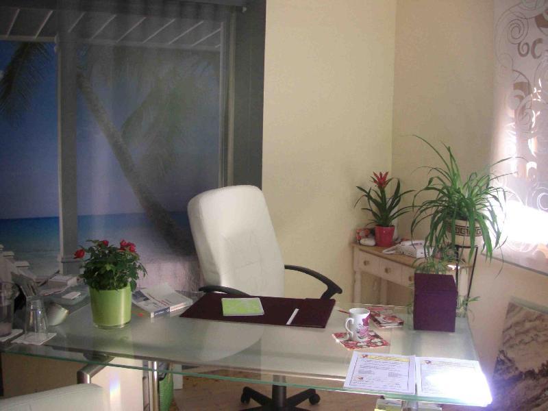 Spechzimmer als geschüzter Rahmen für ein therapeutisches Gespräch ...