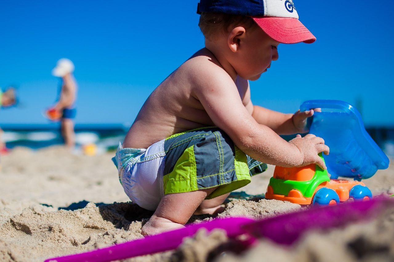 Sandspieltherapie für Kinder