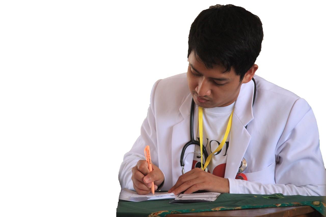 junger Arzt